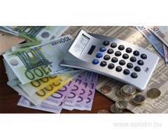 hitelek és befektetések finanszírozása
